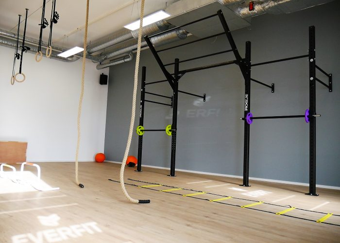 EVERFIT Fitnessstudio Rogue RIG