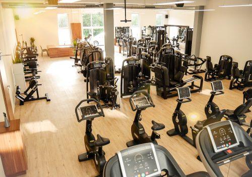EVERFIT Fitnessstudio Laufbahn