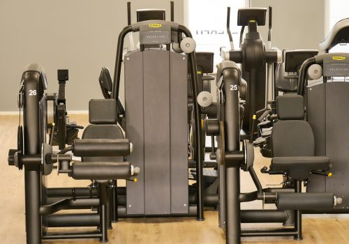EVERFIT Fitnessstudio Legcurl