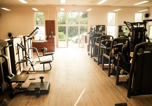 EVERFIT Fitnessstudio Eingangsbereich