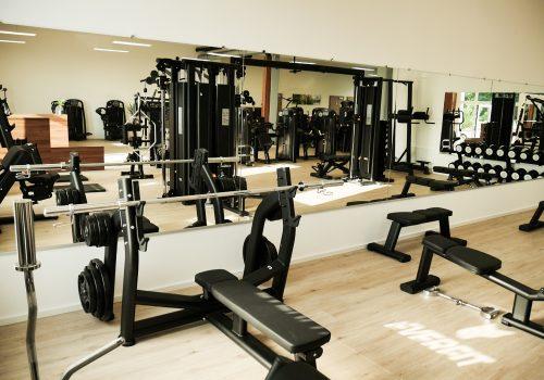 EVERFIT Fitnessstudio Bankdrückbank