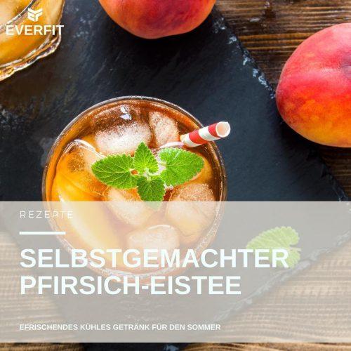 Pfirsich Eistee